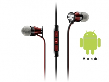 Tai  nghe Sennheiser Momentum In Ear for Android smartphone - Red for Android