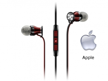 Tai  nghe Sennheiser Momentum In Ear for iPhone/iPad/iPod - Red for iOS