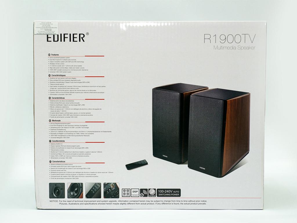 Loa Edifier 2.0 R1900 TV Like new - 5
